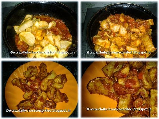 Chetinad Potato Fry | Chetinad Urulai Kilangu Varuval