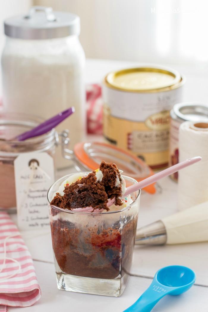 Preparado para mug cake: aún menos esfuerzo!