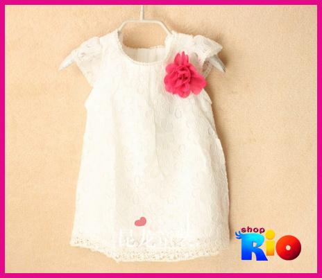 Váy ren Zara trắng