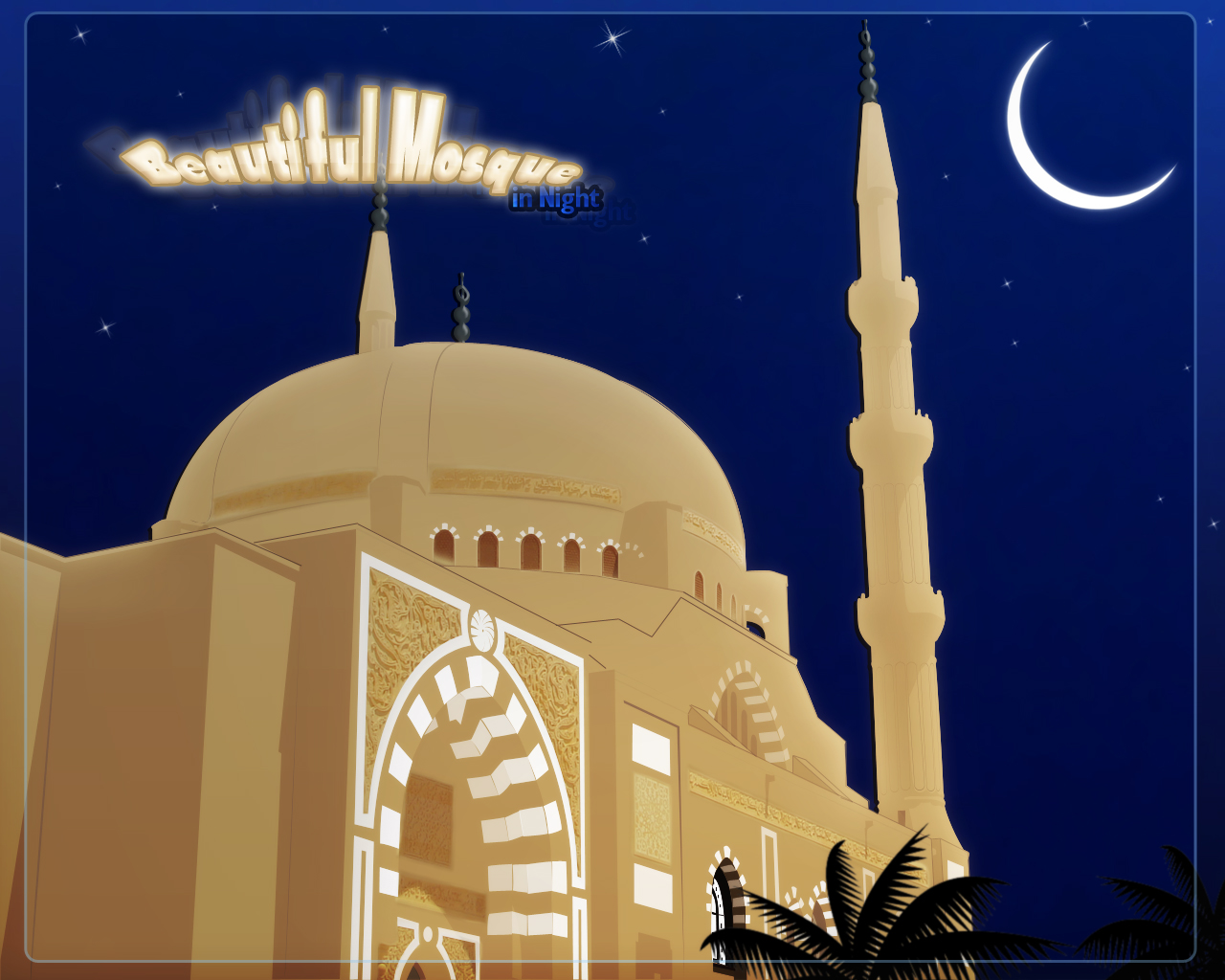 10 Free Mosque Vector Graphics Download