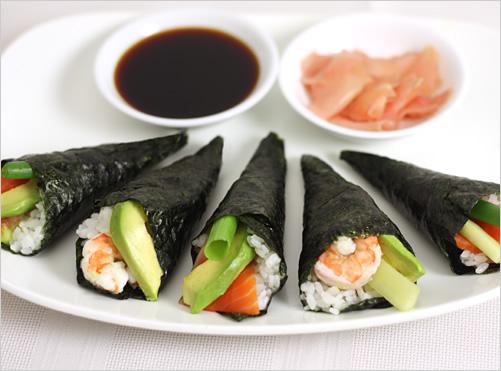 hand roll @ temaki sushi