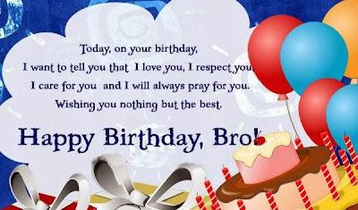 Birthday Brother photo
