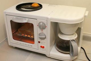 Mocroondas - plancha- cafetera