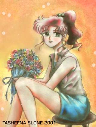 Sailor Jupiter's Petals por TasheenaS