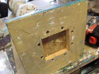 wood base for art angel