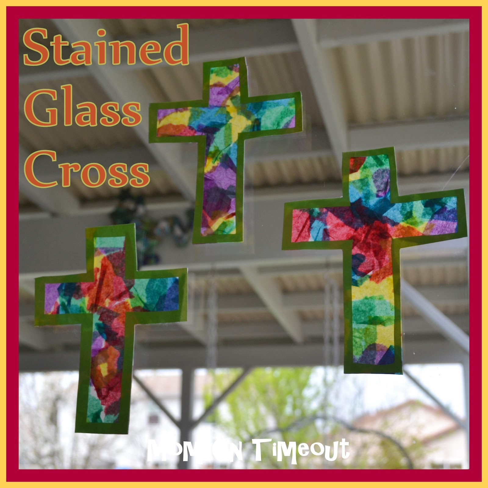 Cross template simple cross image craft ideas pinterest crosses - Stained Glass Cross Craft