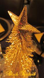 Gull og glitter.