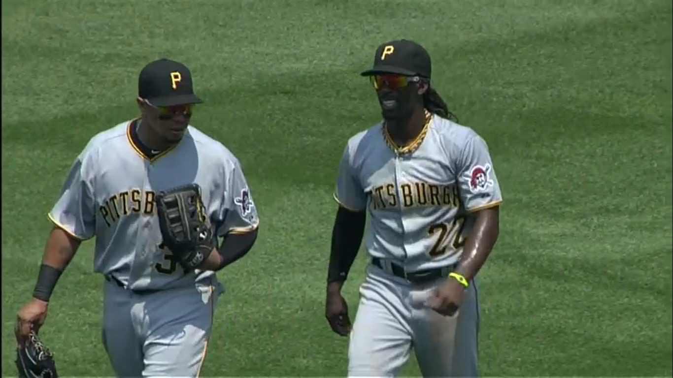 What are those things around baseball players necks