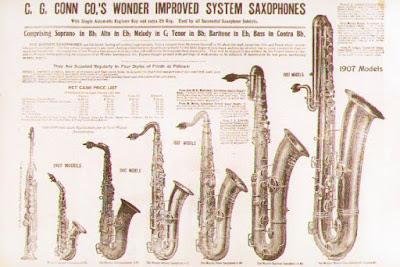 historia del saxofón