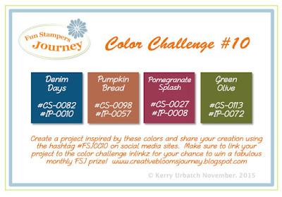 November 2015 Color Challenge