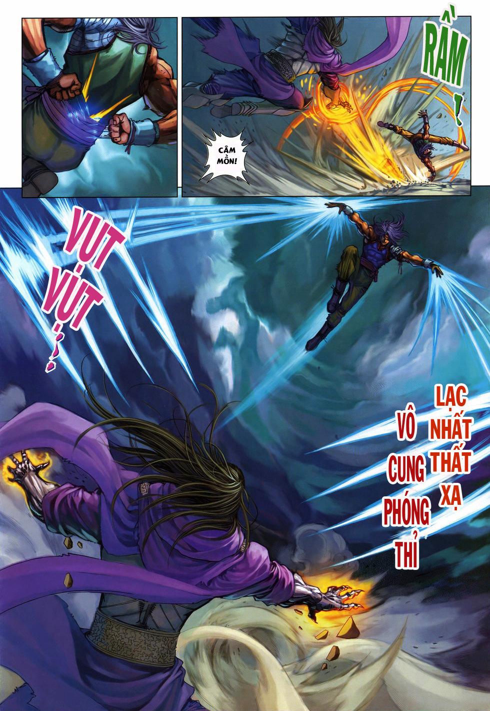 Tứ Đại Danh Bổ chap 222 Trang 10
