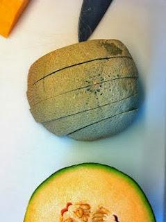 Limpiar y cortar la fruta