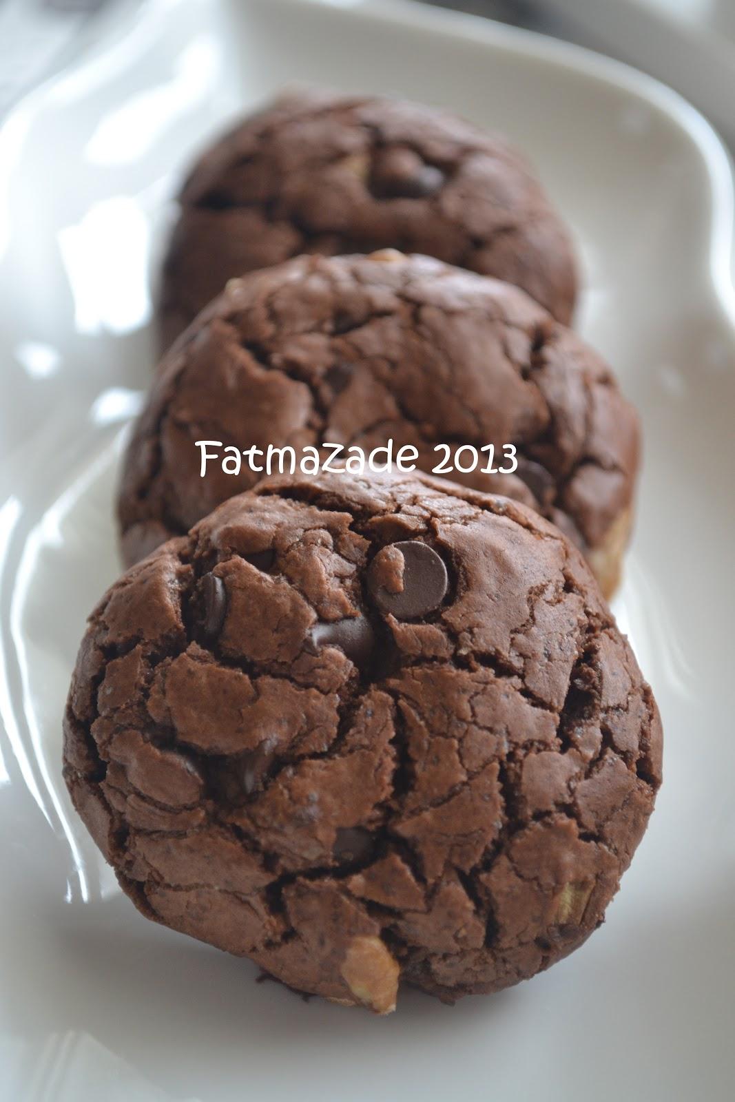 Çikolatalı Cevizli Kurabiye