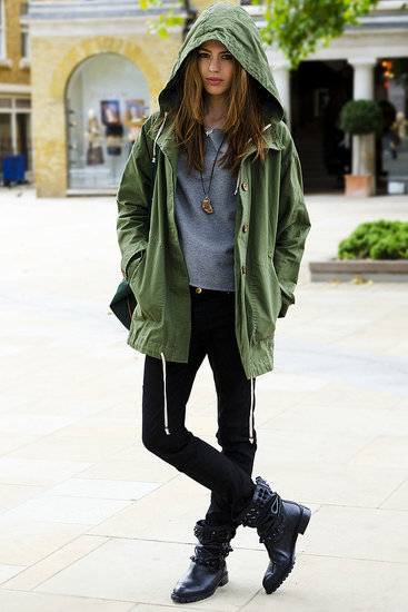 FASHION INSPIRATION DAILY: Wear That PARKA