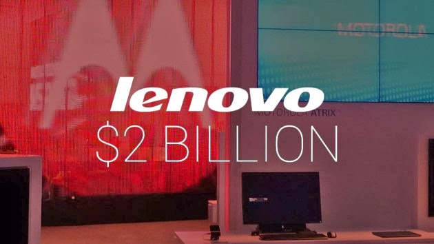 Lenovo Purchase Motorola for $2 Billion