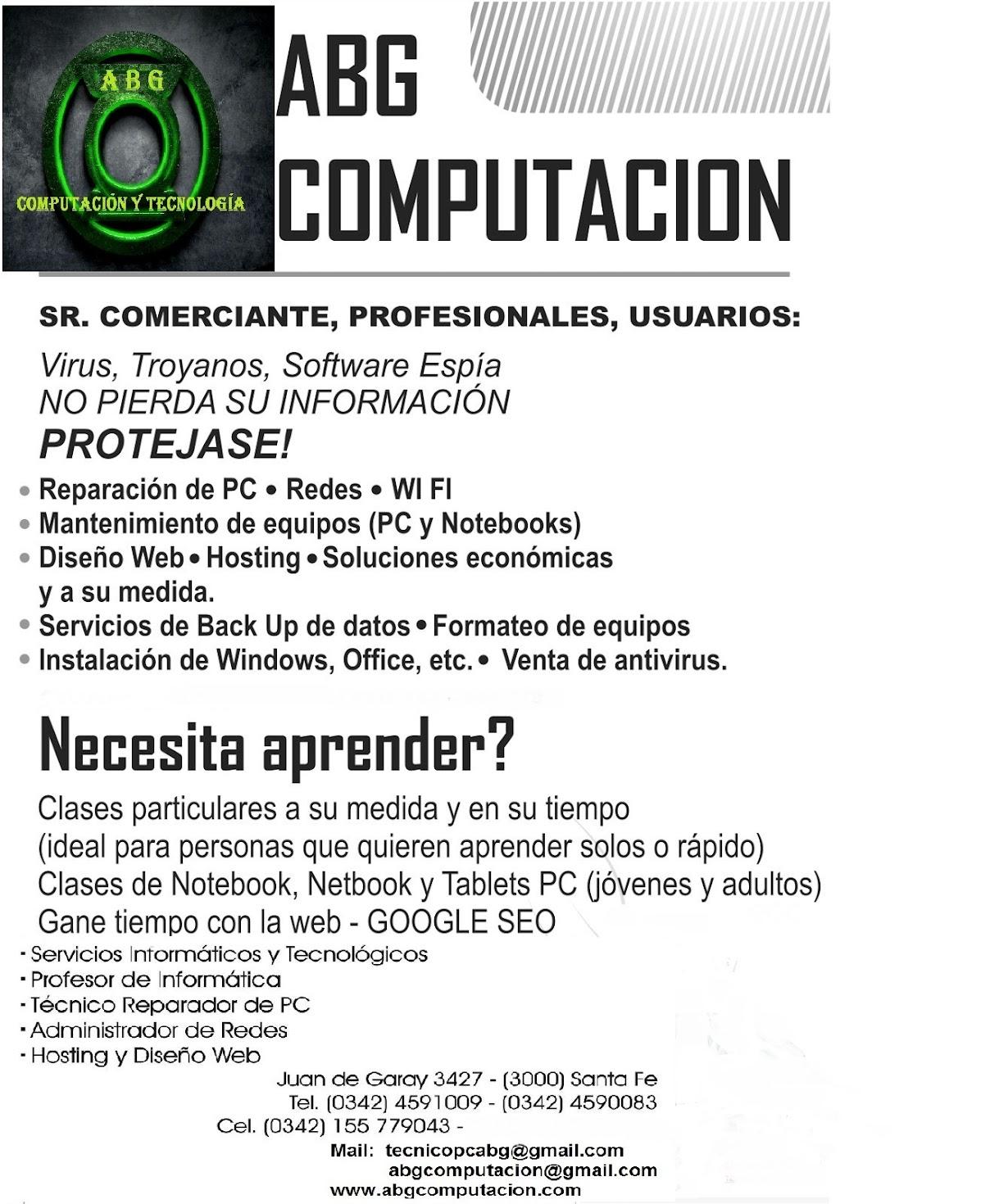 A B G - COMPUTACION  y  TECNOLOGIA