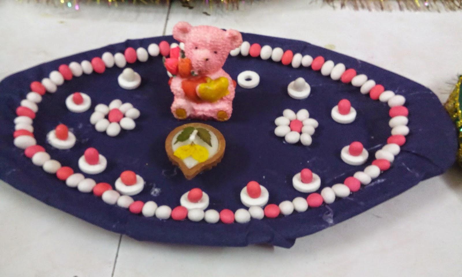 Wedding and Aarthi plates by Chandra Vadhana