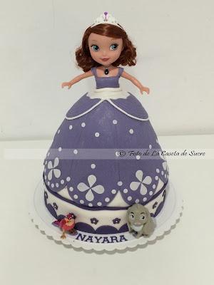 tarta princesa sofia 3D 1