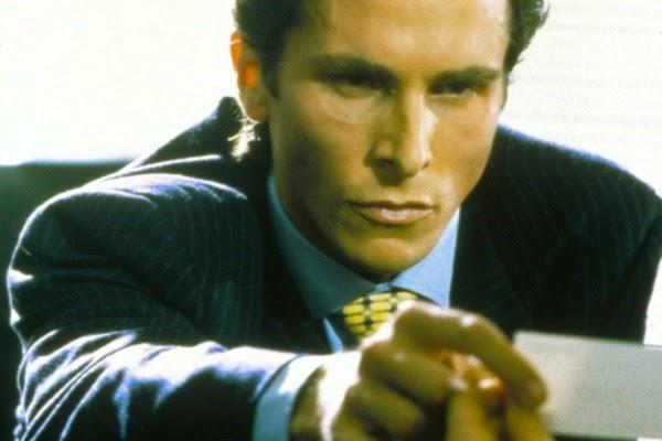 Psicopata Americano, American Psycho, Patrick Bateman, Christian Bale, Filme, 2000