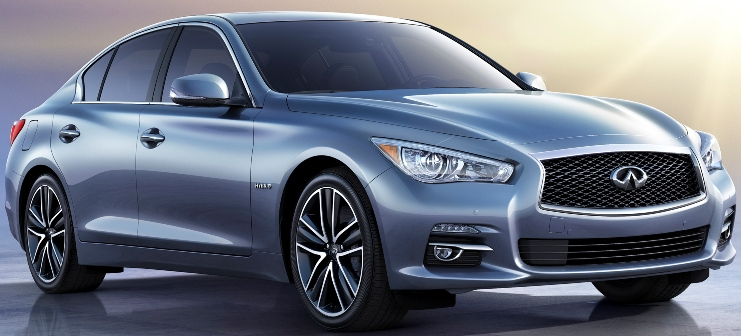 Saxton on cars 2014 infiniti qx60 hybrid 2014 infiniti q50 this summer the all new 2014 infiniti q50 sports sedan offered with a choice of a 37 liter v6 or new infiniti direct response hybrid system in rear wheel drive or publicscrutiny Images