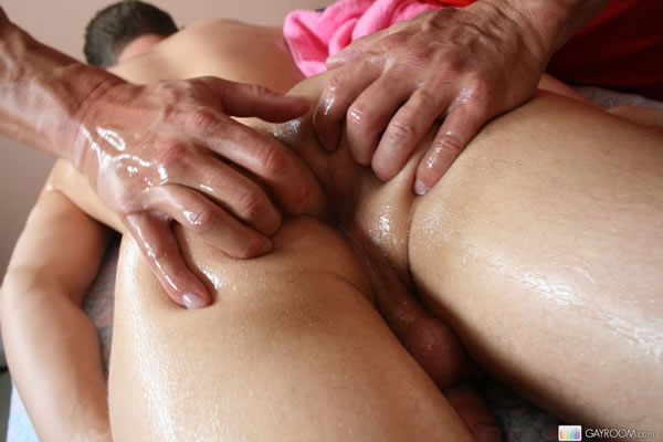 Straight boy gay massage