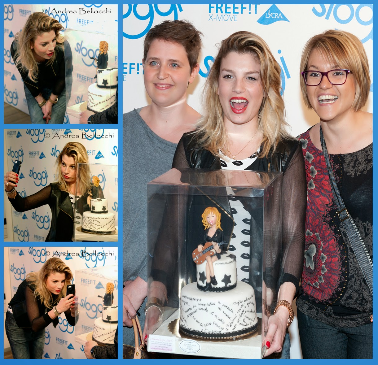 emma marrone sloggi torta decorata cake design polvere di zucchero real_brown