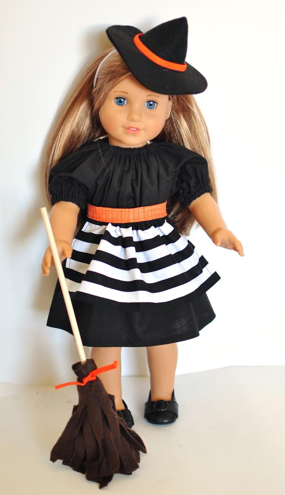 Handmade Halloween: Because dolls need costumes too, right ...