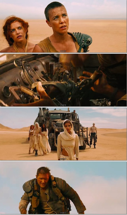 Mad Max Fury Road Bluray