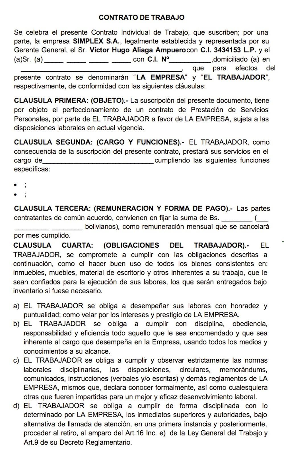 Multimedia contrato de trabajo for Contrato trabajo