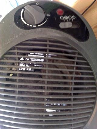 limpiar calefactor eléctrico