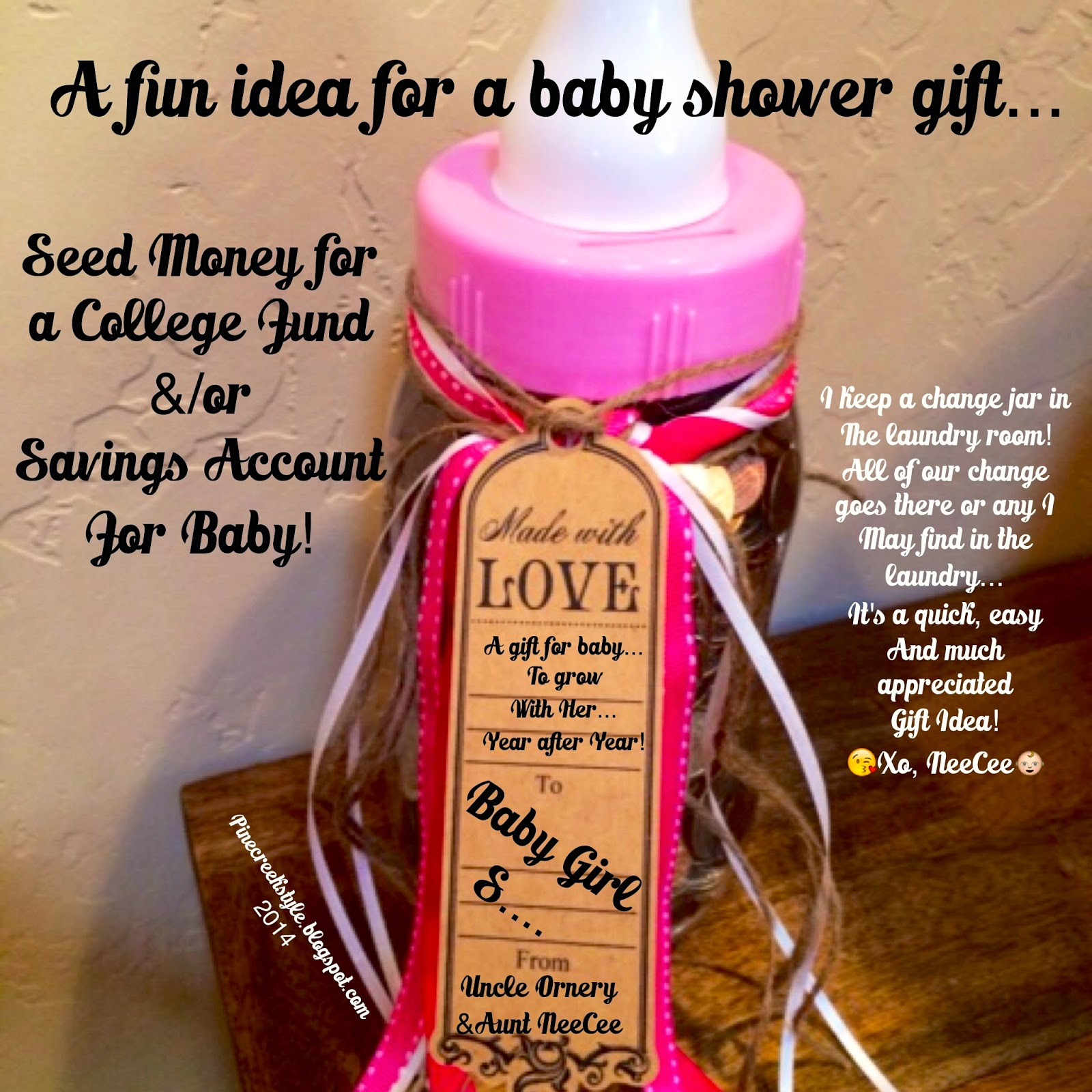 pine creek style baby shower gift idea, Baby shower