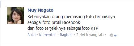 Kumpulan status facebook (FB) keren