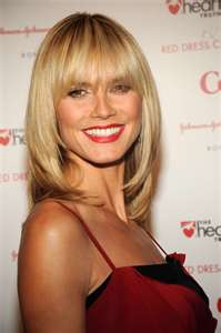 Heidi Klum Long Hair Styles