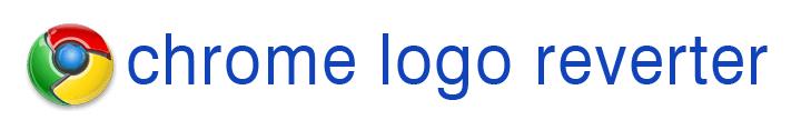 Chrome Logo Reverter