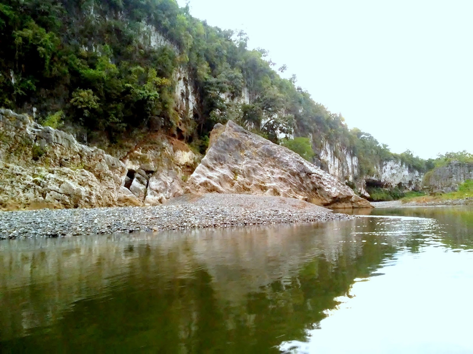 Rock Formations around Siitan River Nagtipunan Quirino