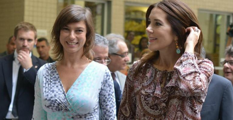 Princess Mary visited the Human Milk Bank at the Fernandes Figueira Institute hospital in Rio de Janeiro