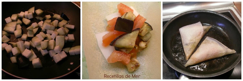 Recetillas de Mer: Tapita de berenjena y tomate