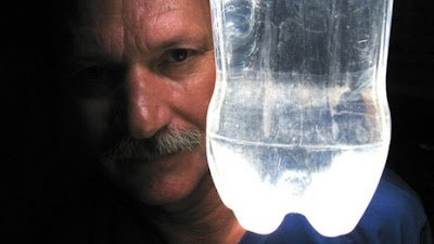 Bottle light inventor proud to be poor