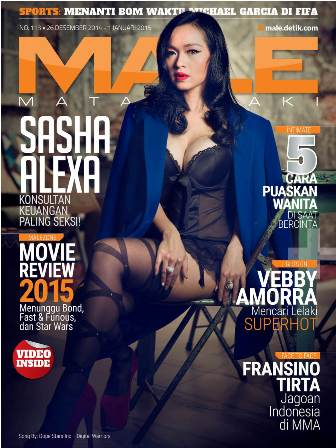 Download Gratis Majalah MALE Mata Lelaki Edisi 113 Cover Model Sasha Alexa| MALE Mata Lelaki 113 Indonesia | Cover MALE 113 Sasha Alexa | www.insight-zone.com