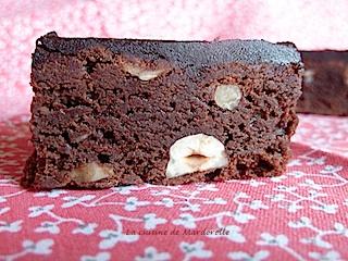 brownie chocolat aux noisette recette facile