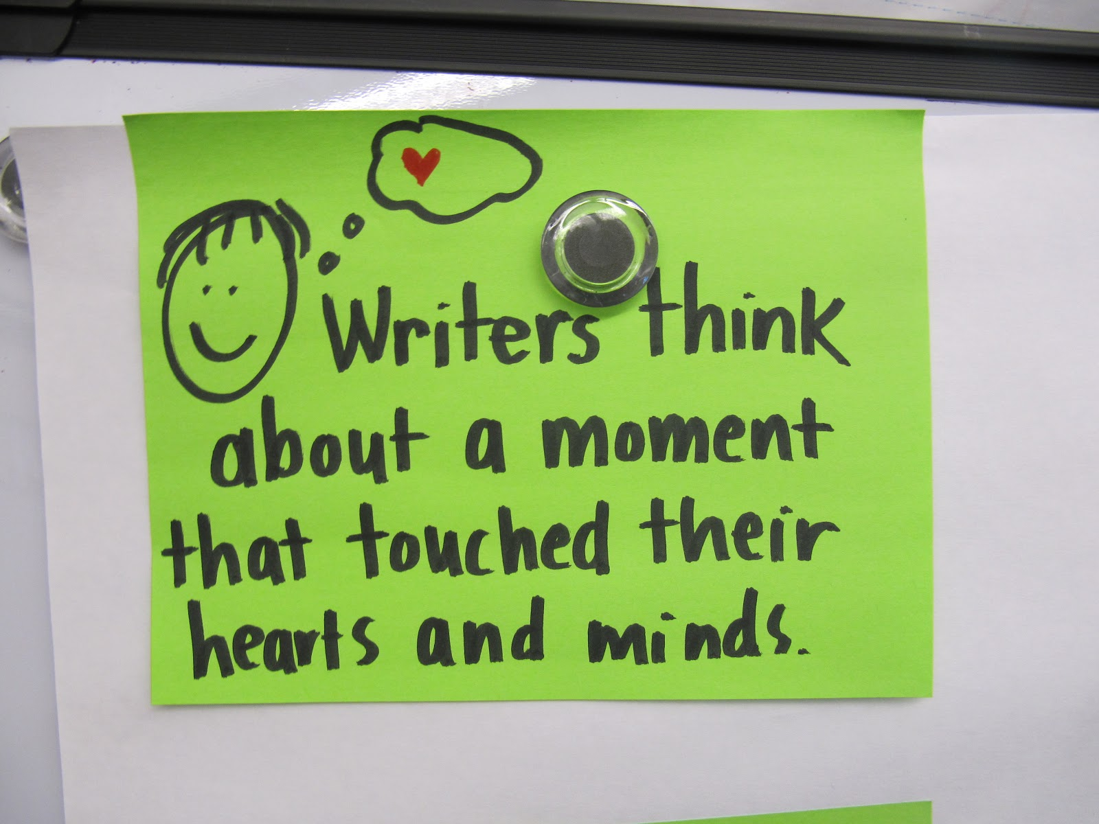 Mr. Spaulding's Fourth Grade Class: Small Moments Stories