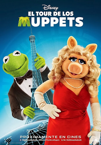 Muppets Most Wanted (BRRip FULL HD Dual Inglés / Latino) (2014)