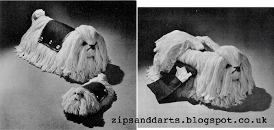 1940's Sewing - Prims Precious Pets Pattern