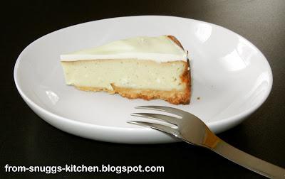Cheese-Cake mit Schmand-Guss