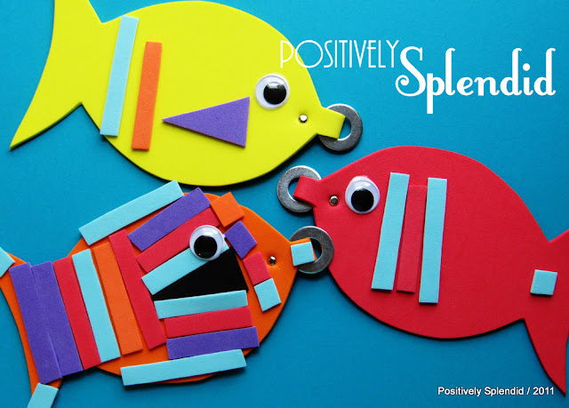activities for kids Magnetic Fishy Game {Boredom Buster}