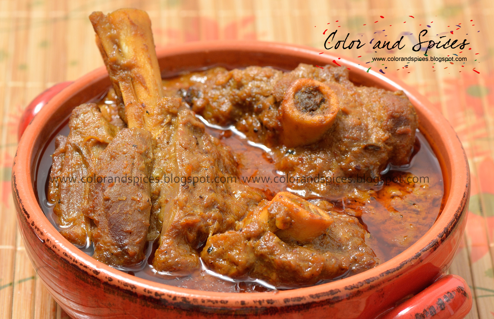 Color and spices mutton curry color and spices mutton curry forumfinder Choice Image