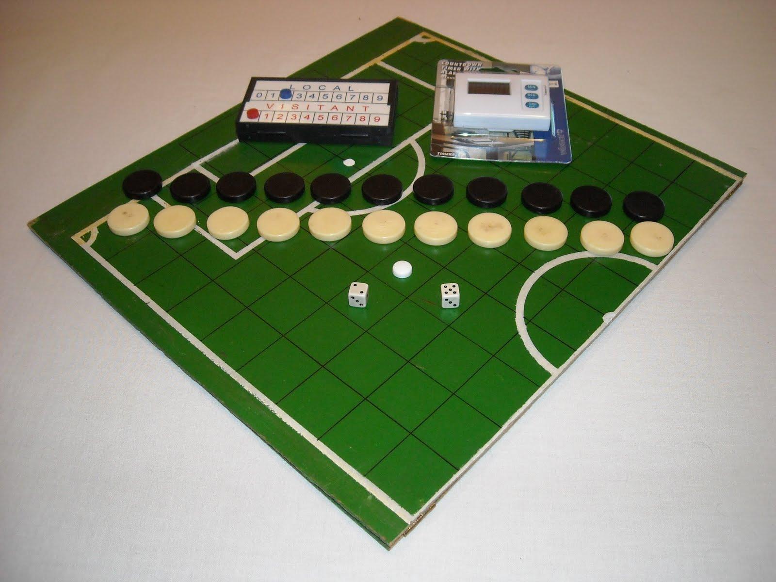 Futbol fusion estilos de futbol de mesa futbol de dados for Juego de mesa de futbol