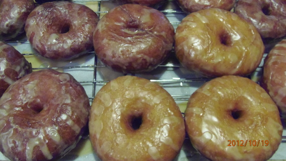 Homemade Apple Cider Donuts Recipe