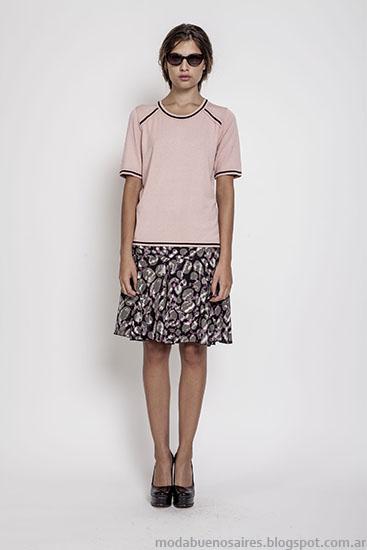 Moda invierno 2015 Janet Wise faldas.