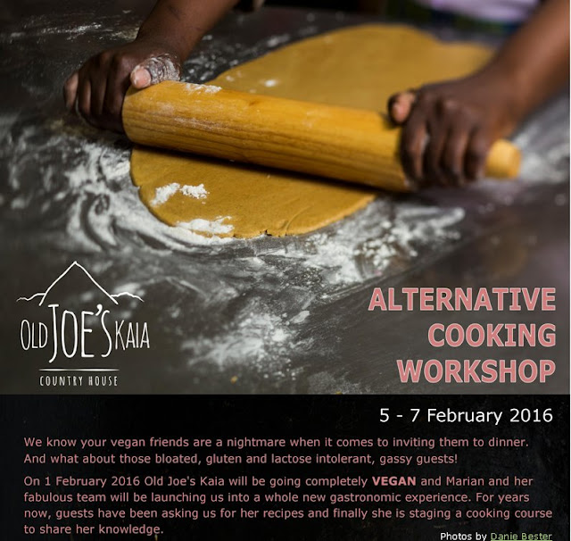 South Africa: Old Joe's Kaia alternative cookng workshop